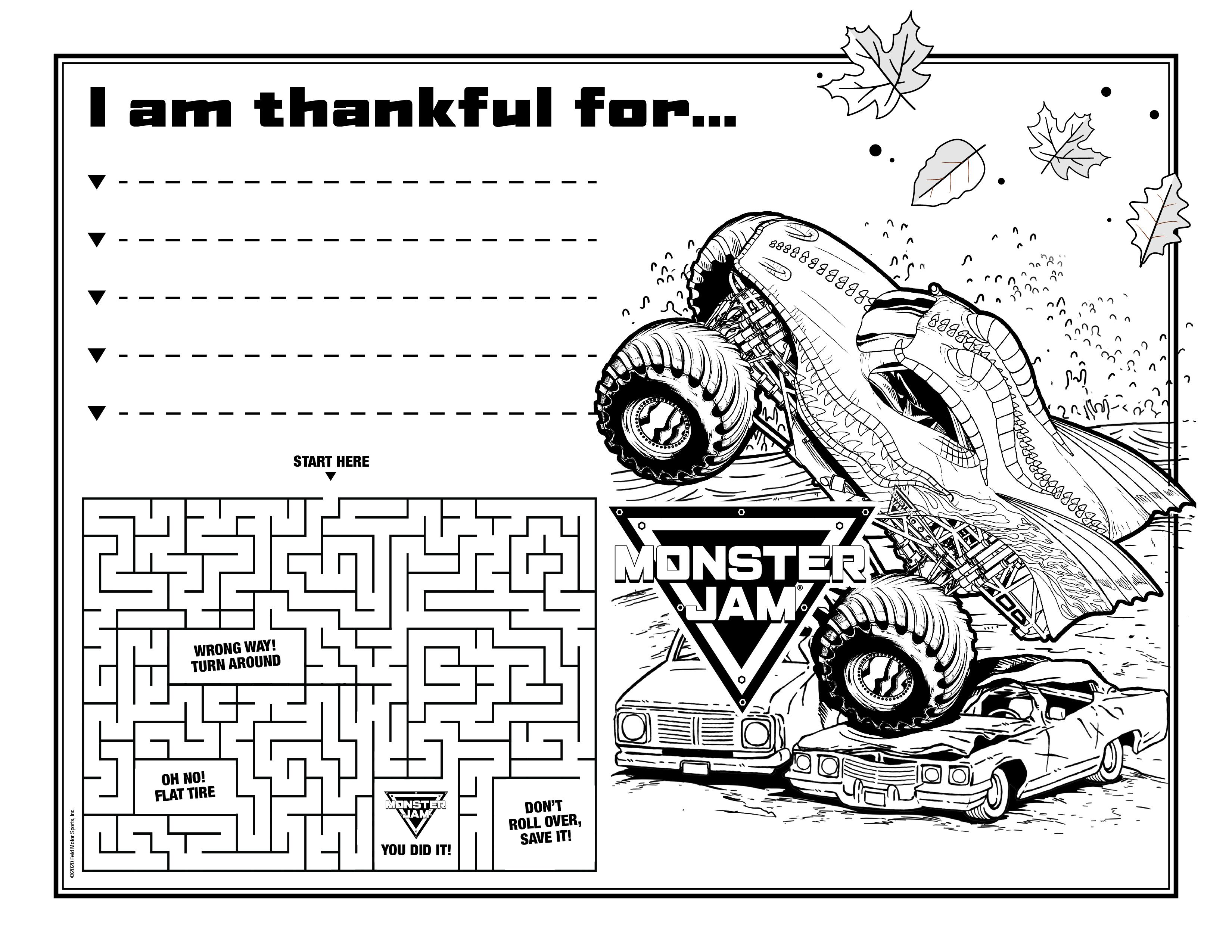 Thanksgiving Placemat 1
