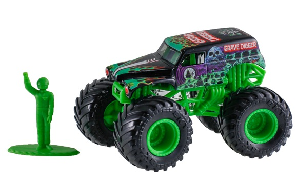 Grave Digger Toy Truck