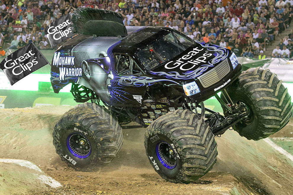 Mohawk Warrior Monster Jam Truck