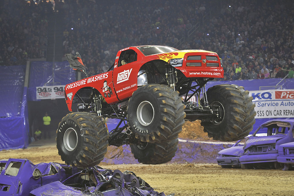 Hotsy Monster Jam Truck