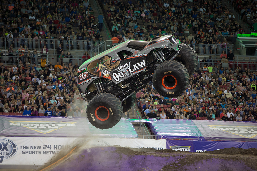 Iron Outlaw Monster Jam Truck