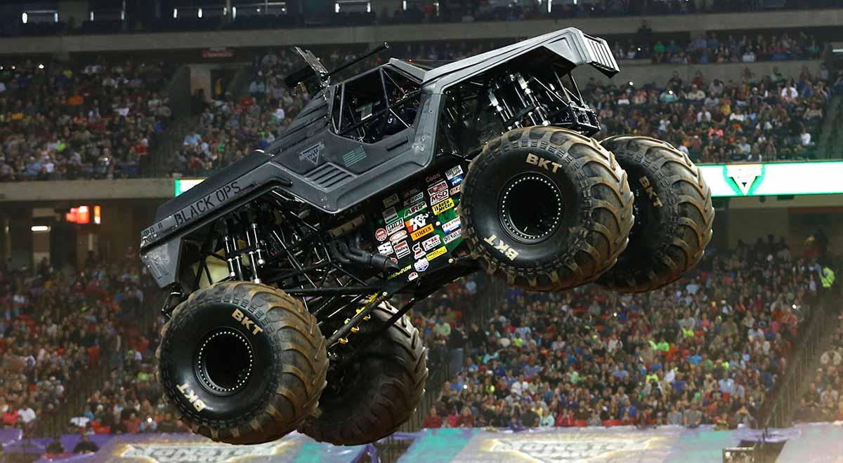Soldier Fortune Black Ops Monster Jam Truck