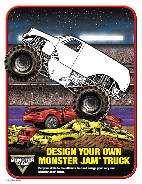 DESIGN YOUR OWN MONSTER JAM TRUCK