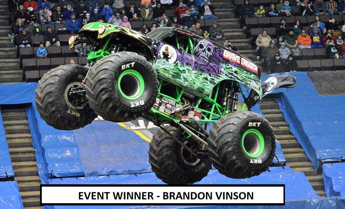Brandon Vinson - Event Winner