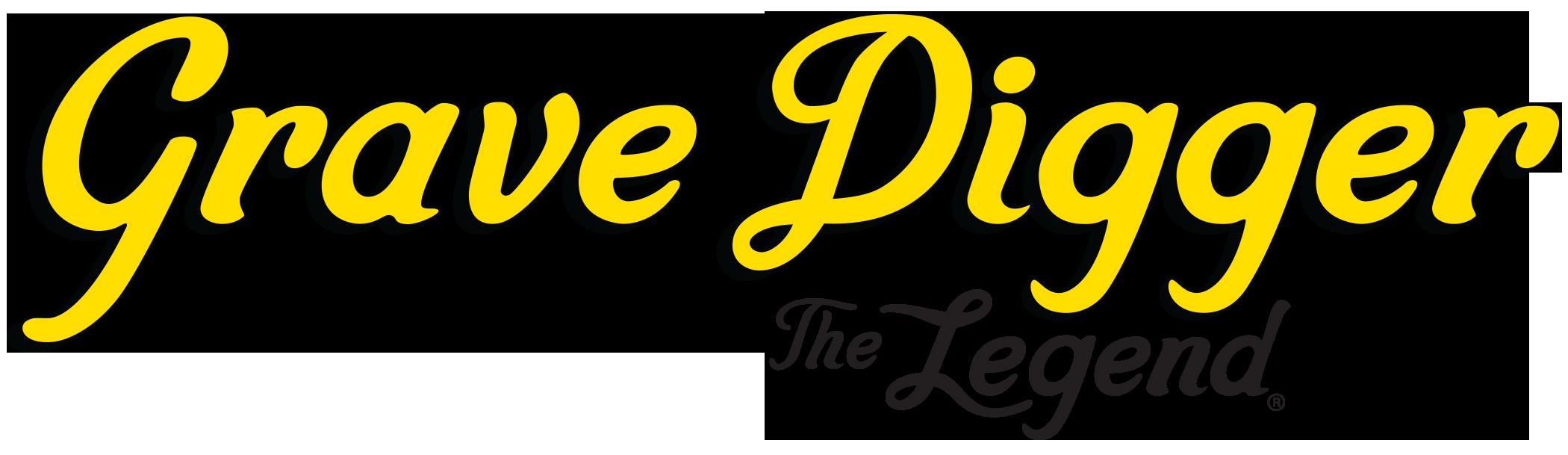 grave digger the legend logo