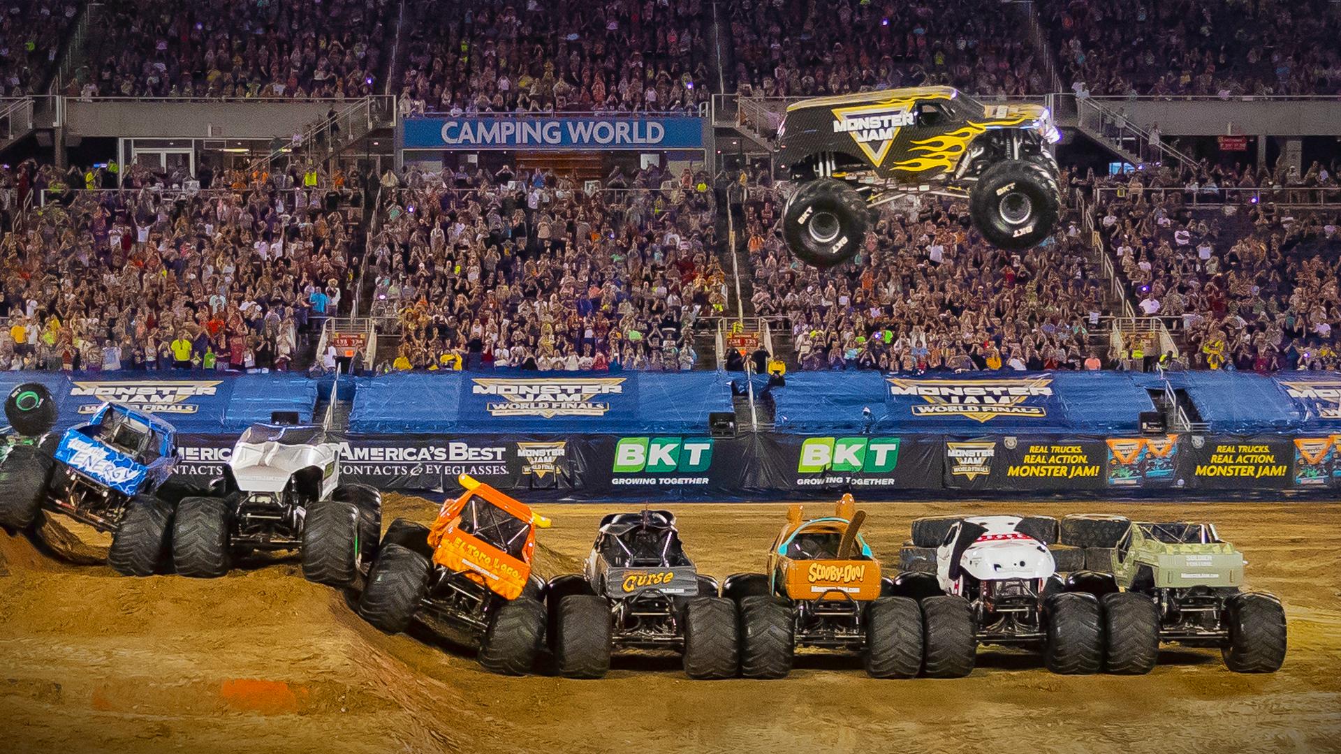 Monster Jam World Finals Jump