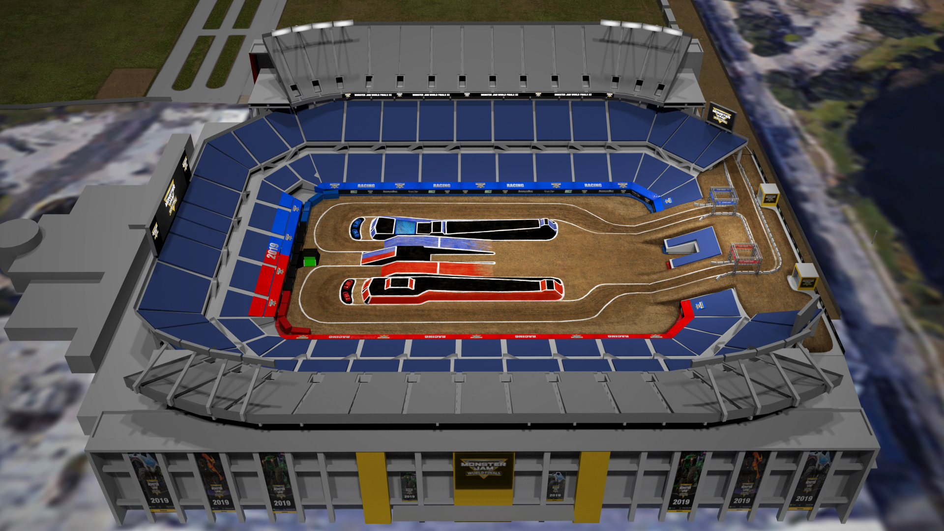 By B Hints || Monster Jam World Finals 2019 On Tv