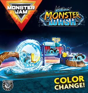 Monster Truck Monster Wash