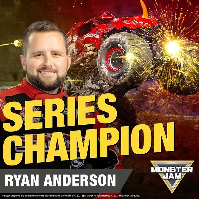 RYAN ANDERSON - 2021 SERIES CHAMP