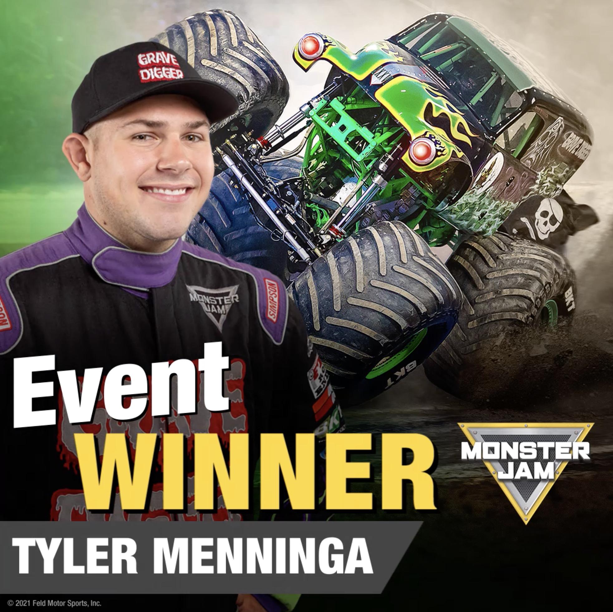 Tyler Menninga winner