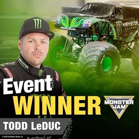Event Winner:Monster Energy
