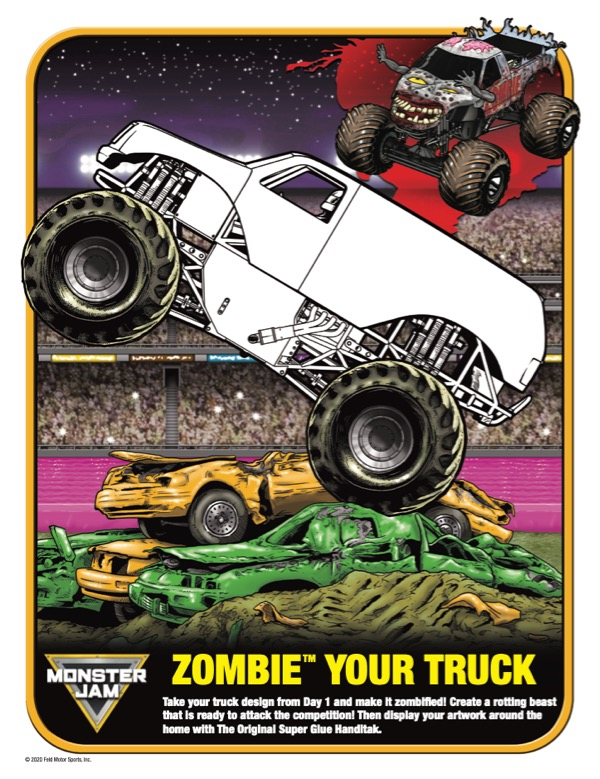 ZOMBIE YOUR TRUCK