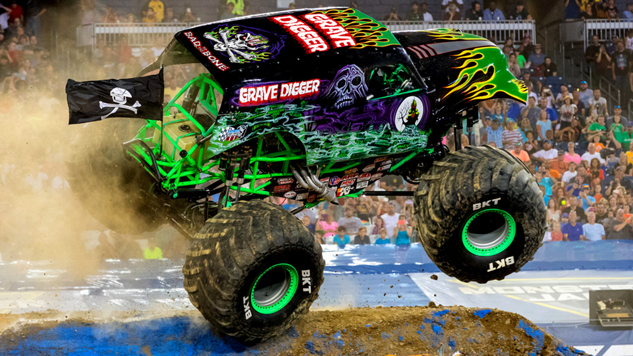Grave Digger Monster Jam Japan