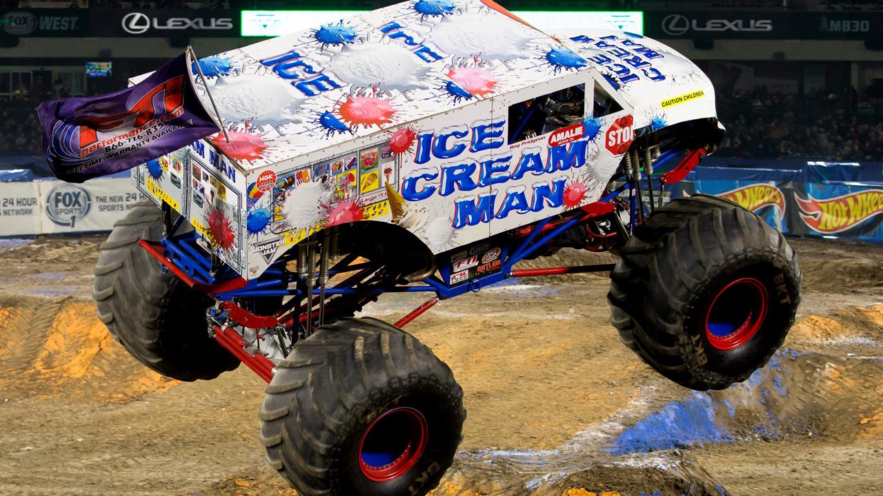 Ice Cream Man Monster Jam Japan