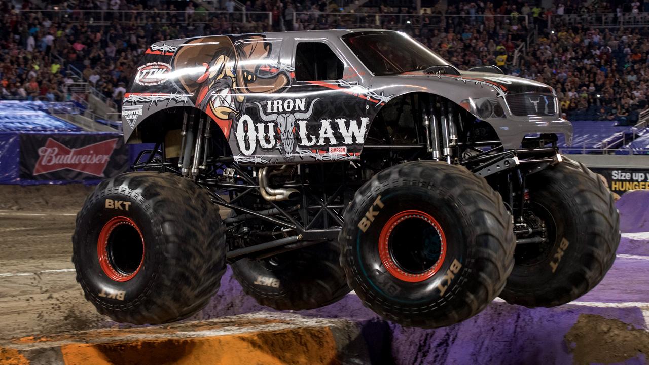 Iron Outlaw Monster Jam Japan