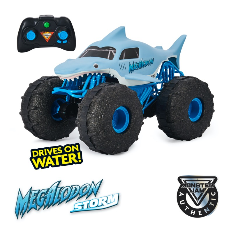 Megalodon Storm All-Terrain Remote Control Monster Truck