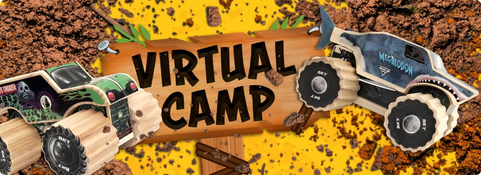 Monster Jam Virtual Camp