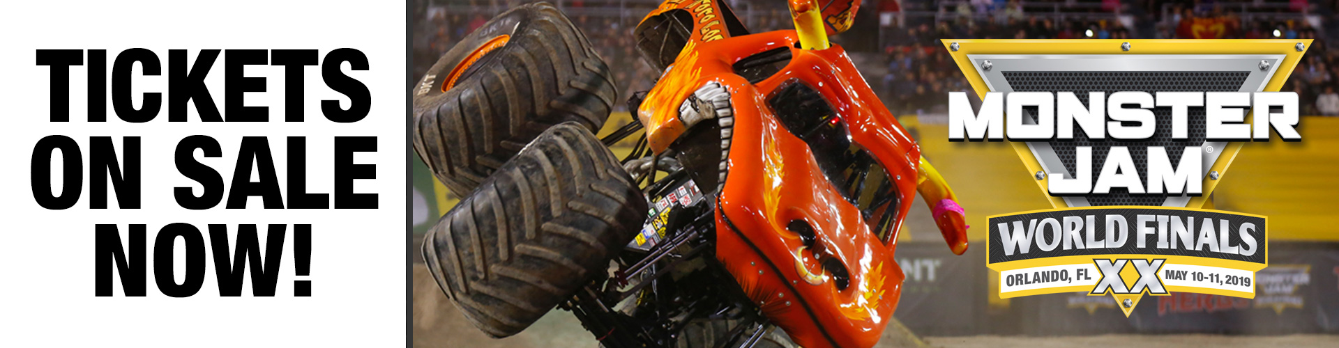 Monster Jam World Finals XX Tickets On Sale Now