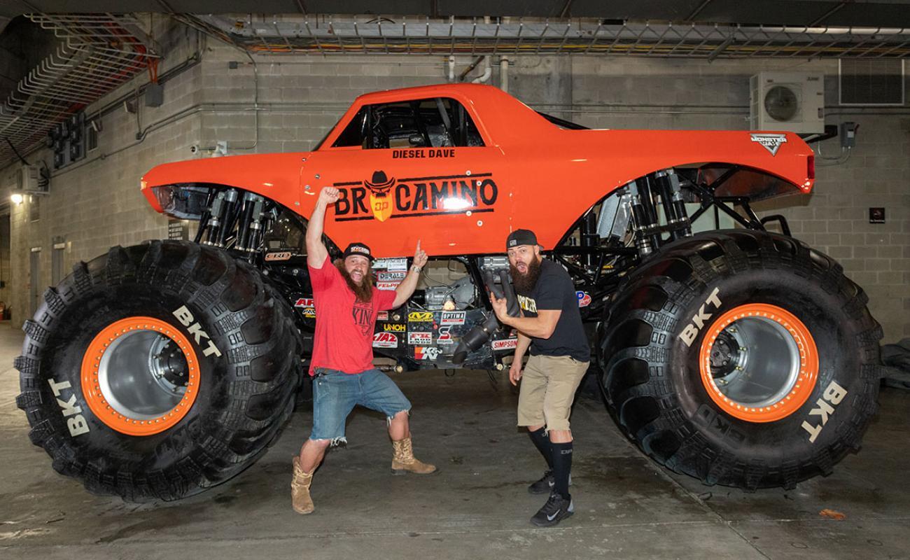 Monster Jam Las Vegas >> BroCamino Debuts   Monster Jam