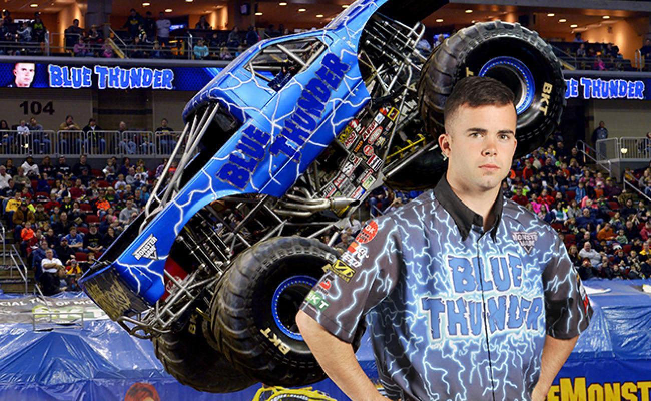 Trucks And Toys >> Dalton Millican of Blue Thunder Passed Away   Monster Jam