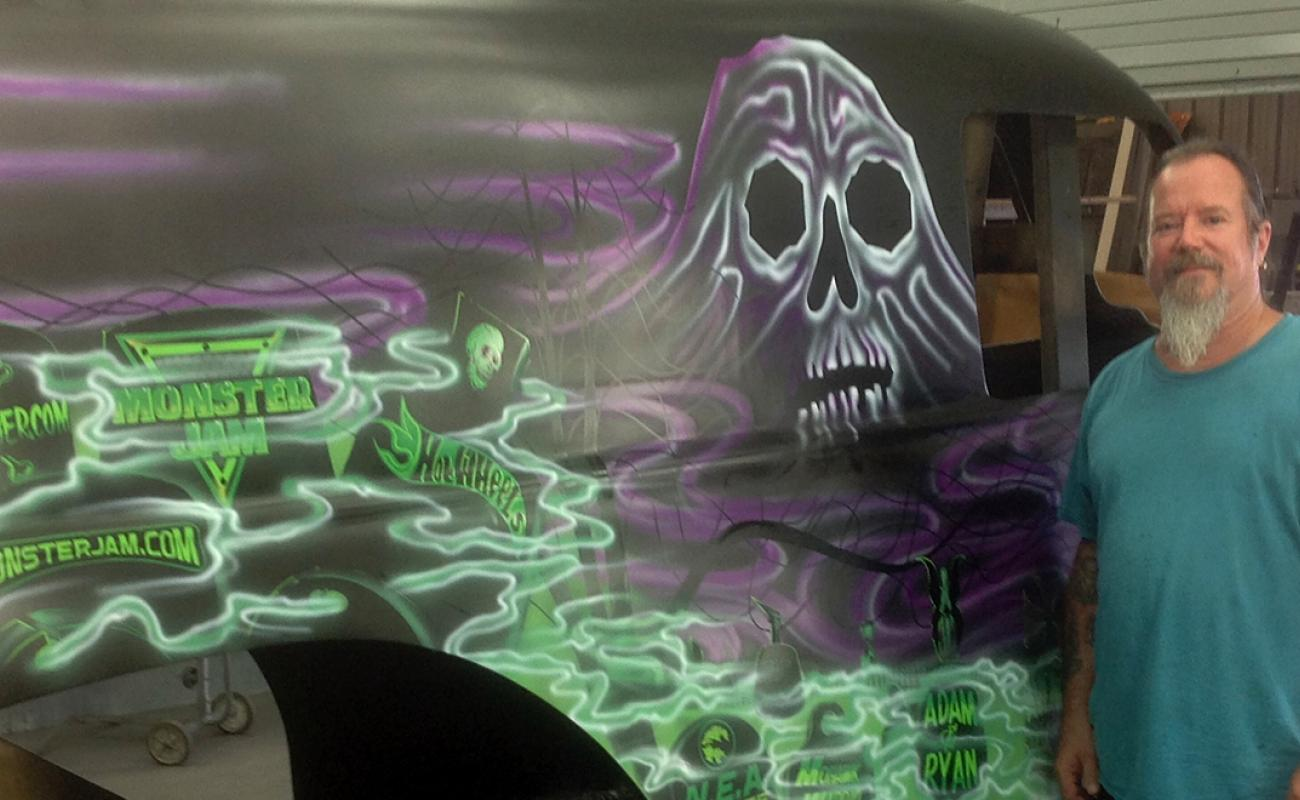 The Art Of Grave Digger Monster Jam