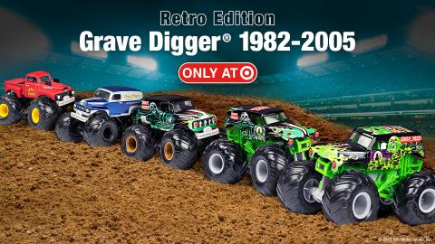 Grave Digger set