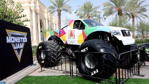 Riyadh truck