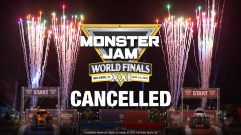 Monster Jam World Finals 2020 Cancelled