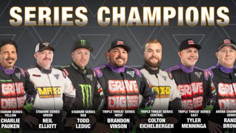 2020 Series Champions