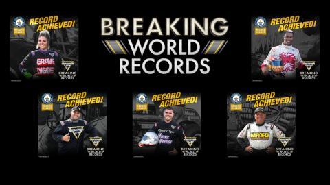 MONSTER JAM® BREAKS 6 GUINNESS WORLD RECORDS® TITLES