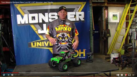 Tom Meents reviews hobby grade RC Monster Jam trucks