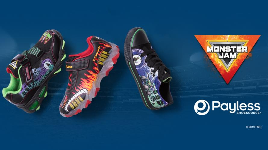 Payless Offers Monster Jam Shoes