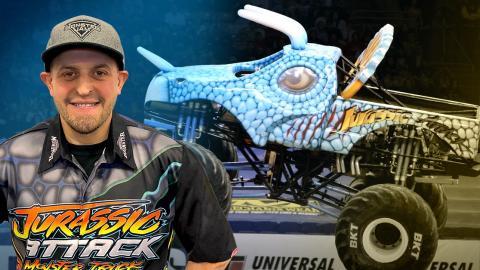 Dave Olfert with Jurassic Attack