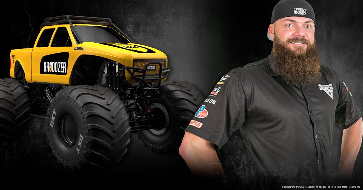 Trucks And Toys >> Heavy D Monster Jam Driver | Monster Jam