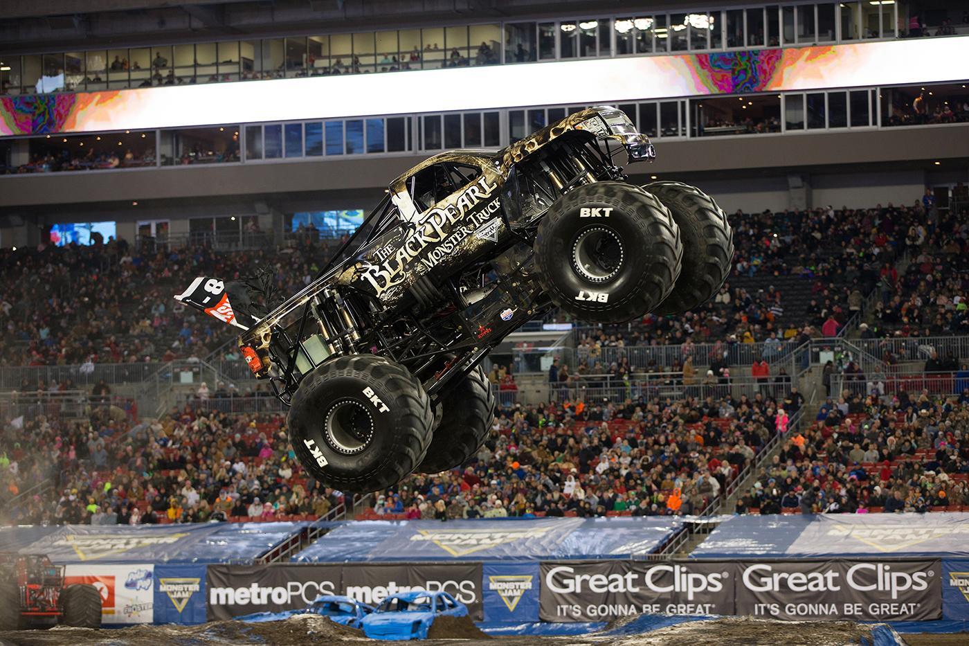 Black Pearl Monster Jam Truck Monster Jam