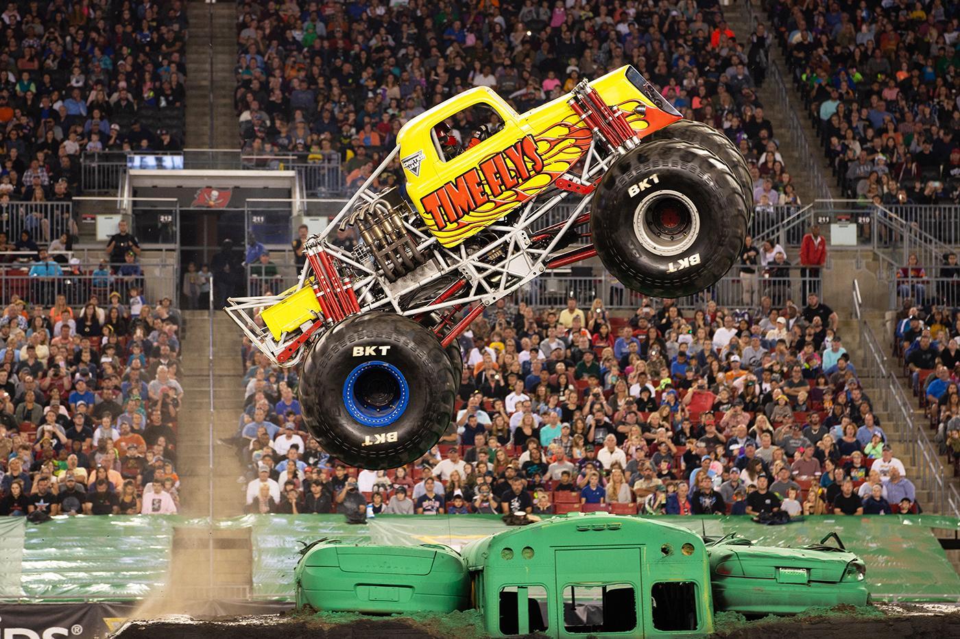 Time Flys Monster Jam Truck Monster Jam