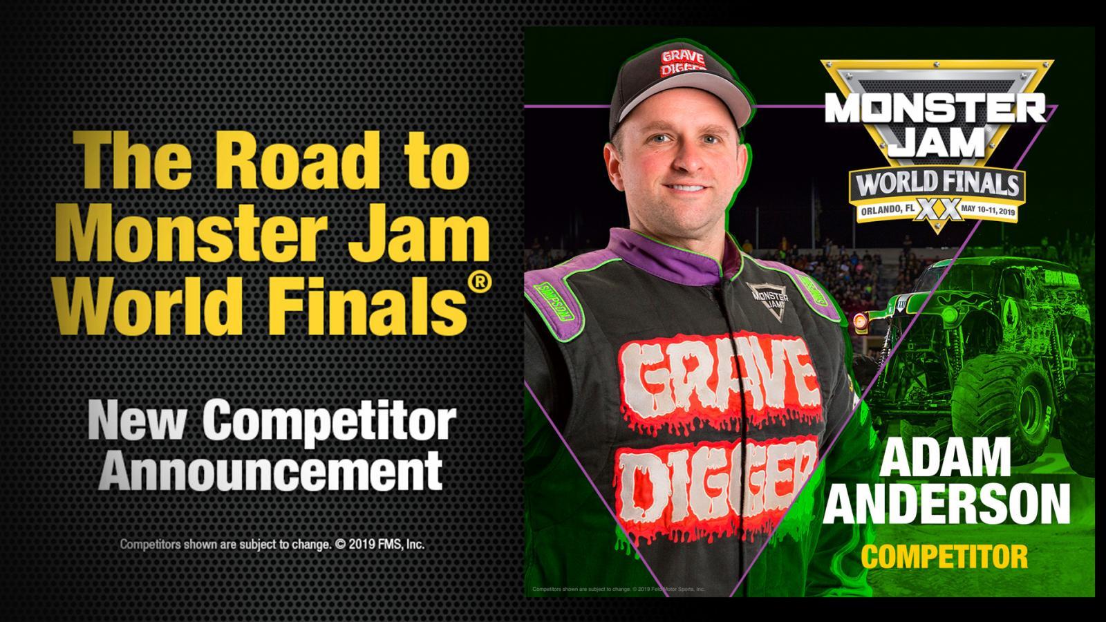 5eb336b209e Adam Anderson Joins World Finals Field