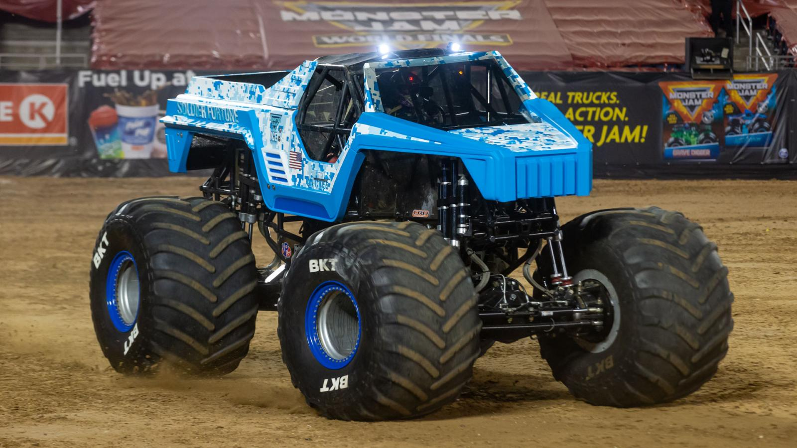 Team Fire And Team Ice Join Triple Threat Series Monster Jam