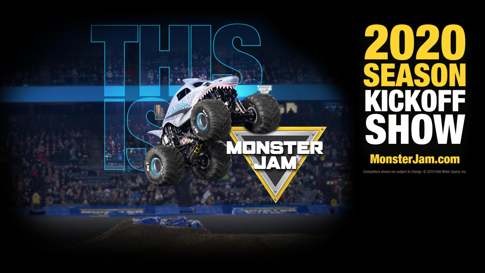 Monster Truck Show 2020.Monster Jam 2020 Season Announcement Monster Jam