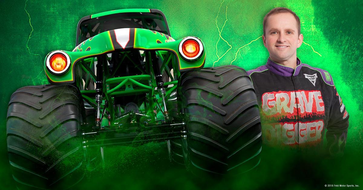 Adam Anderson Monster Jam Driver Monster Jam
