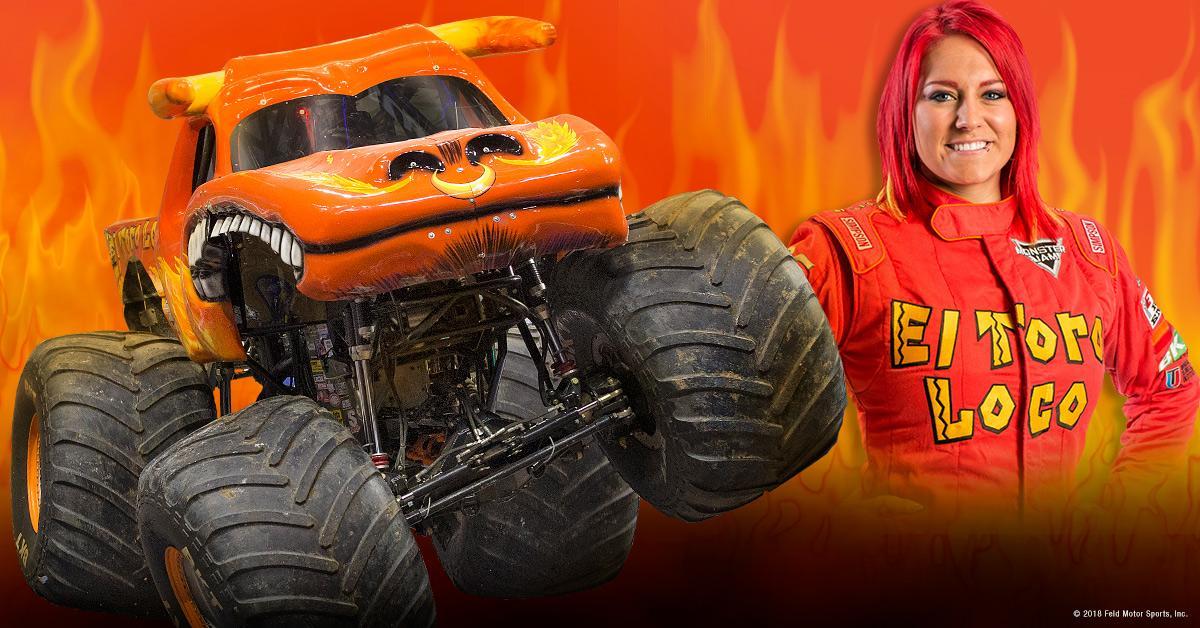Becky Mcdonough Monster Jam Driver Monster Jam