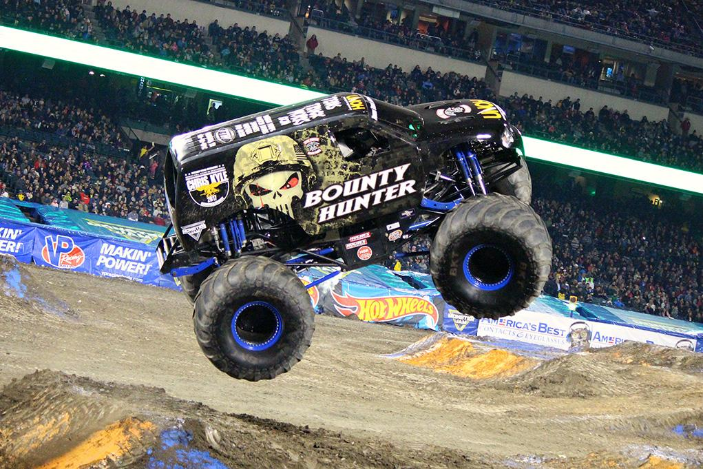 Bounty Hunter Monster Jam