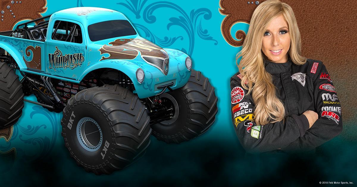 Brianna Mahon Monster Jam Driver Monster Jam