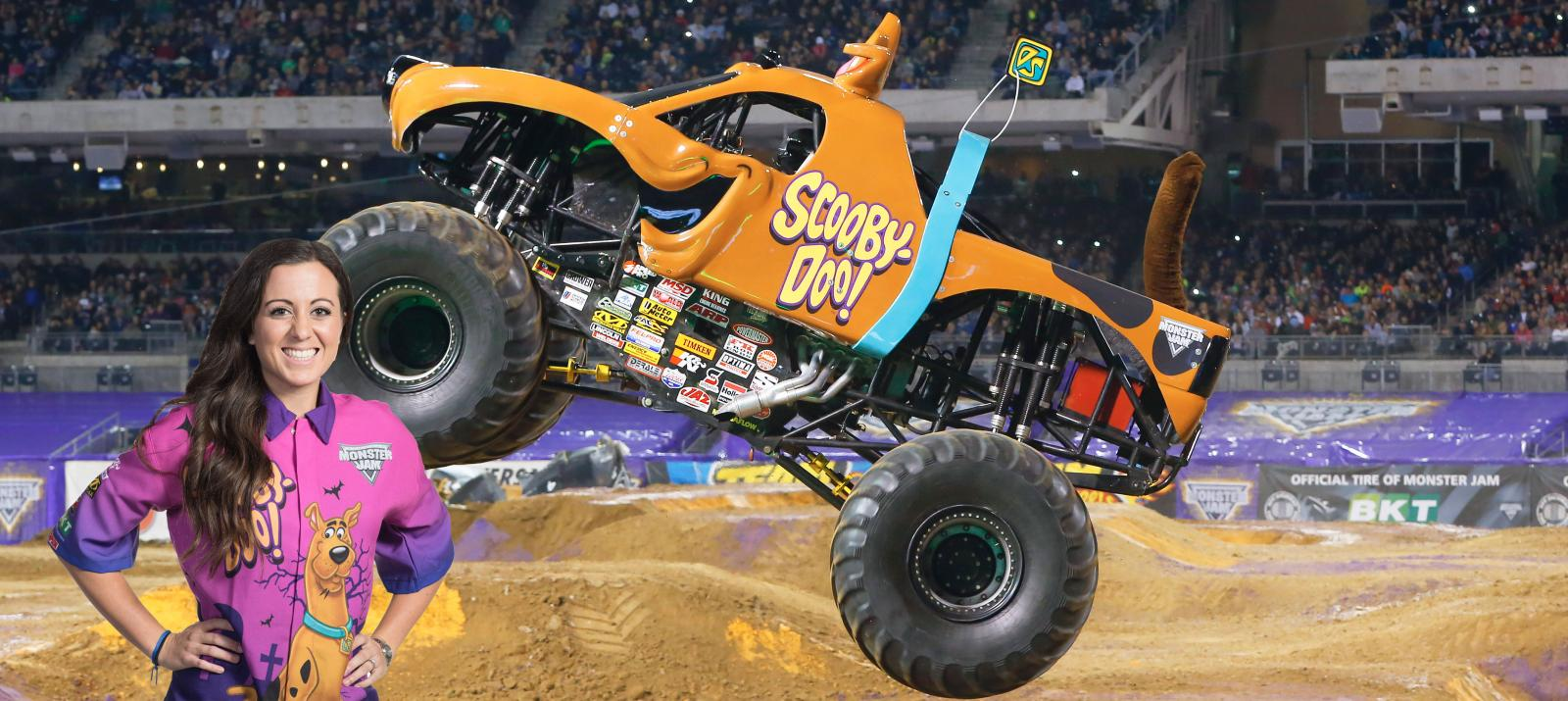 Image result for Linsey Read and scooby doo truck