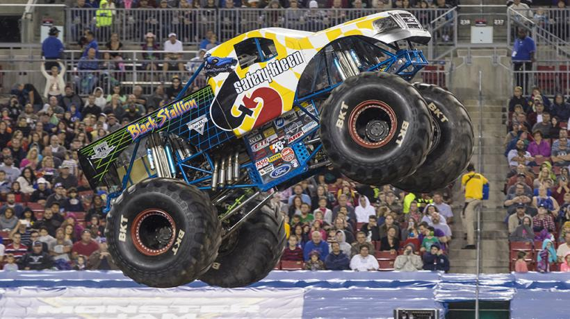 Black Stallion Monster Jam Truck