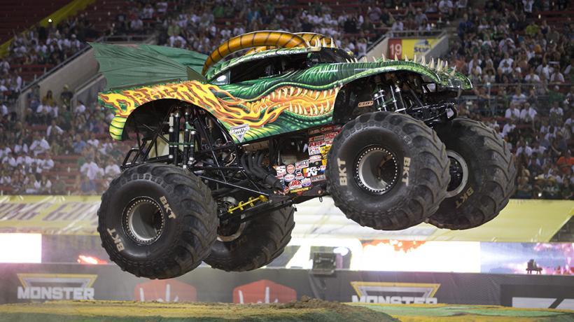 Dragon Monster Jam Truck