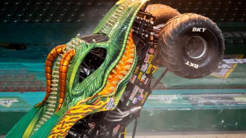 Dragon Monster Jam Cardiff