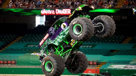 Grave Digger Monster Jam Cardiff