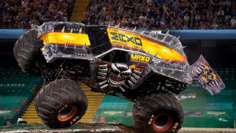 Max-D Monster Jam Cardiff
