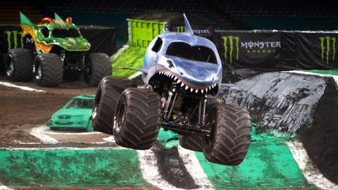 Megalodon Monster Jam Cardiff